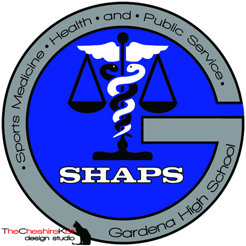 Logo design for SHAPS; I incorporated the caduceus for Sports Medicine/Health and the scales for Public Service.