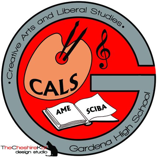 Logo Design for CALS - since this SLC also includes two smaller SLCs (AME and SCIBA), I listed those on the pages of the open book.
