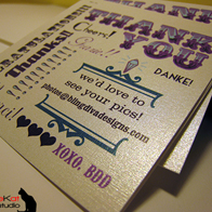 Business Thank-You Cards – Bling Diva Designs